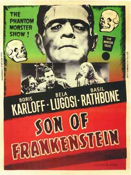 Son of Frankenstein - 11 x 17 Movie Poster - Style B