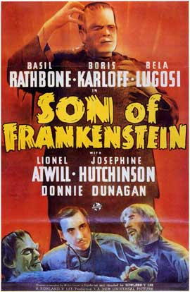 Son of Frankenstein - 11 x 17 Movie Poster - Style C
