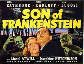 Son of Frankenstein - 11 x 14 Movie Poster - Style A