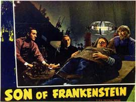 Son of Frankenstein - 11 x 14 Movie Poster - Style B