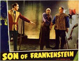 Son of Frankenstein - 11 x 14 Movie Poster - Style C