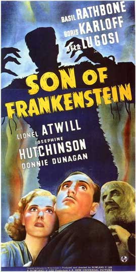 Son of Frankenstein - 11 x 17 Movie Poster - Style D