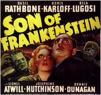 Son of Frankenstein - 11 x 17 Movie Poster - Style E