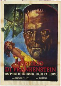 Son of Frankenstein - 11 x 17 Movie Poster - Italian Style A