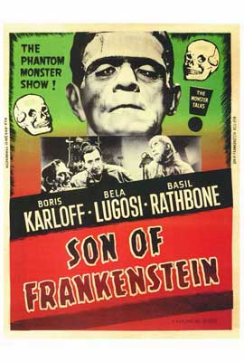 Son of Frankenstein - 27 x 40 Movie Poster - Style B