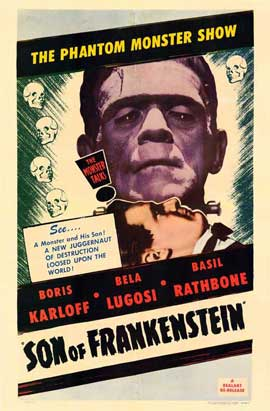 Son of Frankenstein - 11 x 17 Movie Poster - Style H