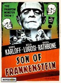 Son of Frankenstein - 43 x 62 Movie Poster - Bus Shelter Style A
