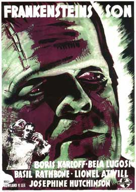 Son of Frankenstein - 11 x 17 Movie Poster - Swedish Style A