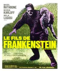 Son of Frankenstein - 11 x 17 Movie Poster - French Style A