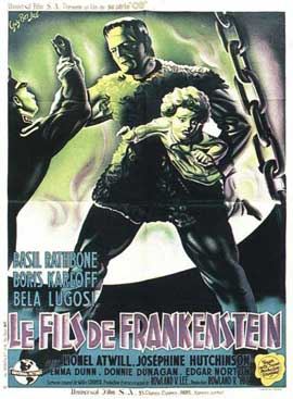Son of Frankenstein - 11 x 17 Movie Poster - French Style B