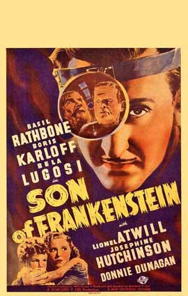 Son of Frankenstein - 14 x 22 Movie Poster - Window Card