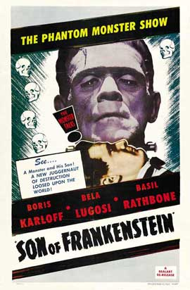 Son of Frankenstein - 27 x 40 Movie Poster - Style A