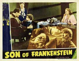Son of Frankenstein - 11 x 14 Movie Poster - Style F