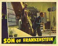 Son of Frankenstein - 11 x 14 Movie Poster - Style G