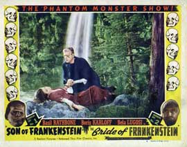 Son of Frankenstein - 11 x 14 Movie Poster - Style I