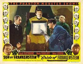Son of Frankenstein - 11 x 14 Movie Poster - Style K