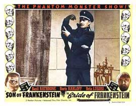 Son of Frankenstein - 11 x 14 Movie Poster - Style N