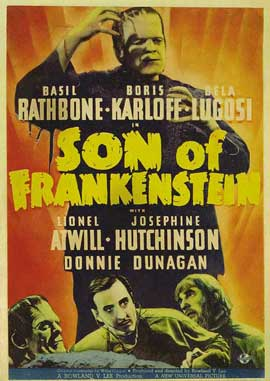 Son of Frankenstein - 27 x 40 Movie Poster - Style C