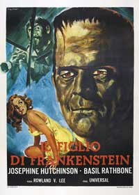 Son of Frankenstein - 27 x 40 Movie Poster - Italian Style A