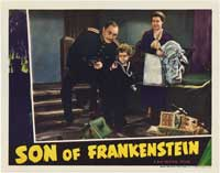 Son of Frankenstein - 11 x 14 Movie Poster - Style P