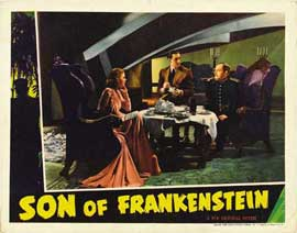 Son of Frankenstein - 11 x 14 Movie Poster - Style Q