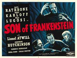 Son of Frankenstein - 30 x 40 Movie Poster UK - Style C