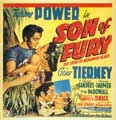 Son of Fury - 11 x 17 Movie Poster - Style B