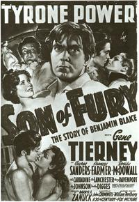 Son of Fury - 11 x 17 Movie Poster - Style A