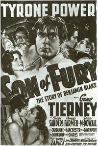 Son of Fury - 27 x 40 Movie Poster - Style A