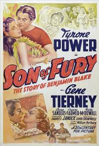 Son of Fury - 27 x 40 Movie Poster - Style B