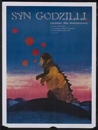Son of Godzilla - 11 x 17 Movie Poster - Polish Style A