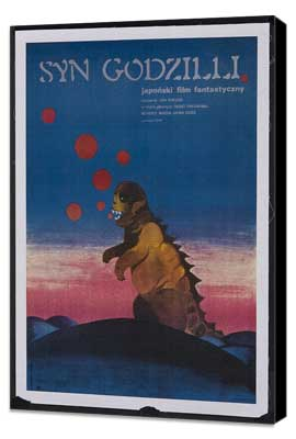 Son of Godzilla - 27 x 40 Movie Poster - Polish Style A - Museum Wrapped Canvas