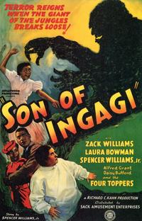 Son of Ingagi - 11 x 17 Movie Poster - Style A
