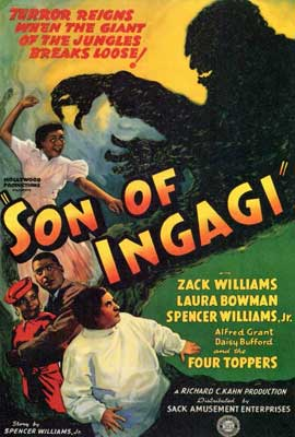 Son of Ingagi - 27 x 40 Movie Poster - Style A