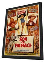 Son of Paleface - 11 x 17 Movie Poster - Style A - in Deluxe Wood Frame