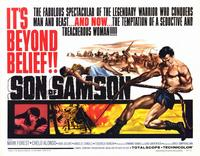Son of Samson - 11 x 14 Movie Poster - Style A
