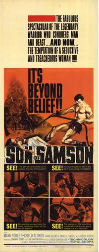 Son of Samson - 14 x 36 Movie Poster - Insert Style A