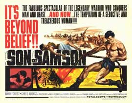 Son of Samson - 22 x 28 Movie Poster - Half Sheet Style A
