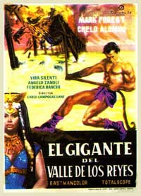 Son of Samson - 11 x 17 Movie Poster - Spanish Style A