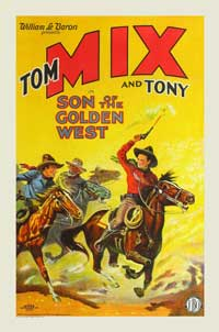 Son of the Golden West - 11 x 17 Movie Poster - Style C