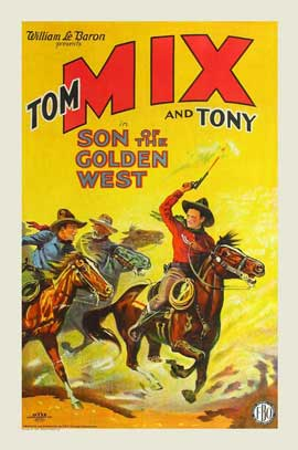 Son of the Golden West - 27 x 40 Movie Poster - Style C