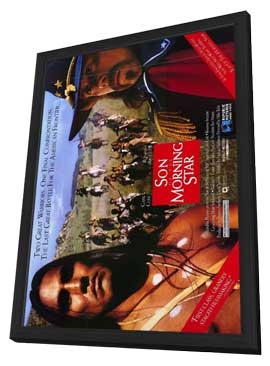 Son of the Morning Star - 11 x 17 Movie Poster - Style A - in Deluxe Wood Frame