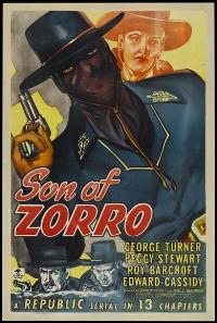 Son of Zorro - 11 x 17 Movie Poster - Style A