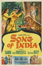 Song of India - 11 x 17 Movie Poster - Style A