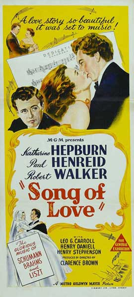 Song of Love - 14 x 36 Movie Poster - Insert Style A