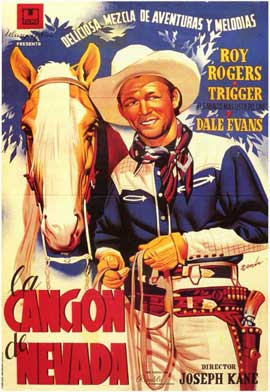 Song of Nevada - 11 x 17 Movie Poster - Spanish Style A