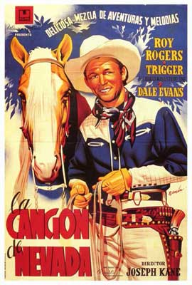 Song of Nevada - 27 x 40 Movie Poster - Spanish Style A
