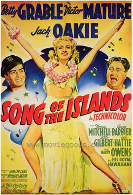 Song of the Islands - 27 x 40 Movie Poster - Style A