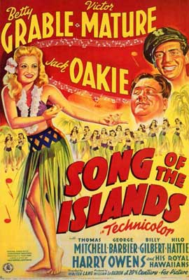 Song of the Islands - 27 x 40 Movie Poster - Style B