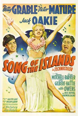 Song of the Islands - 27 x 40 Movie Poster - Style C